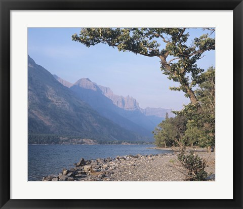 Framed Glacier National Park 12 Print