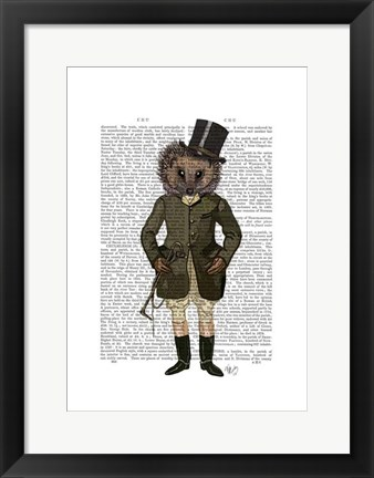 Framed Hedgehog Rider Full Print