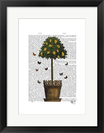 Framed Lemon Tree Print