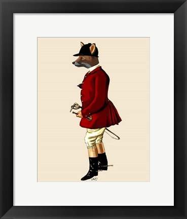 Framed Fox Hunter 1 Print