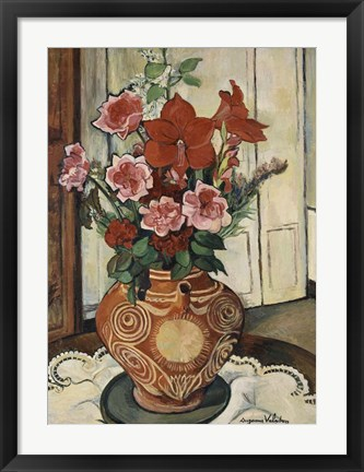 Framed Bouquet of Flowers, 1930 Print