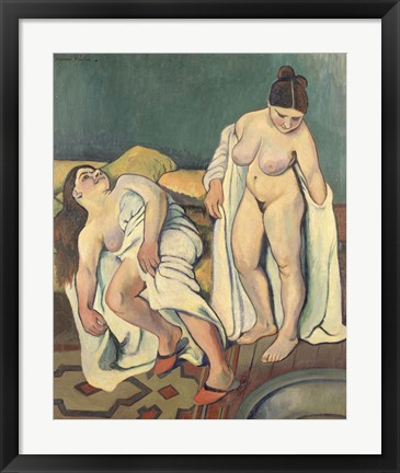 Framed After the Bath, 1909 Print