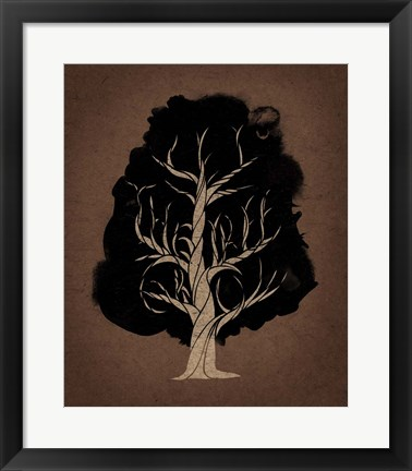 Framed Let The Tree Grow Print