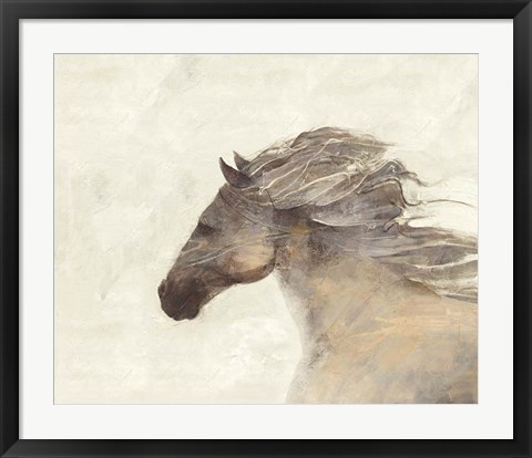 Framed Into the Wind Ivory Print