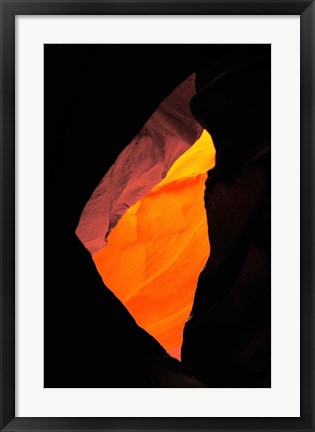 Framed Shaft of Light, Upper Antelope Canyon 1 Print