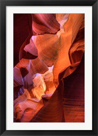 Framed Lower Antelope Canyon 2 Print