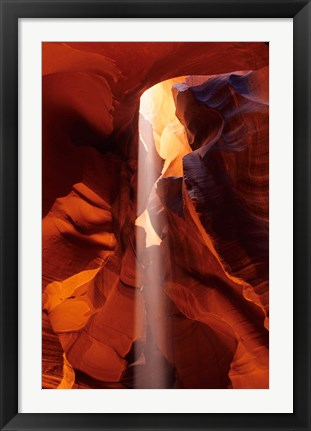 Framed Slot Canyons of the Colorado Plateau, Upper Antelope Canyon, Arizona Print