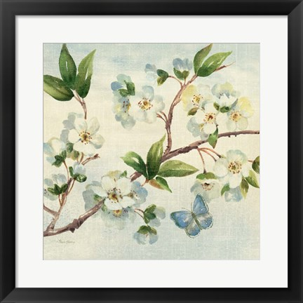 Framed Cherry Bloom II Print