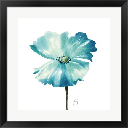 Framed Poppies Tempo II Print