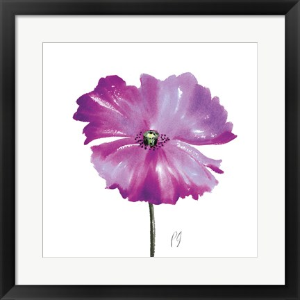 Framed Poppies Tempo III Print