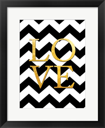 Framed Love Print
