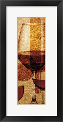 Framed Wine 11 Print