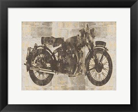Framed Bike 15 Print
