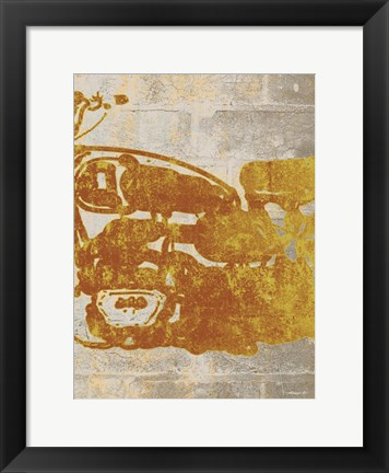 Framed Bike 2 Print
