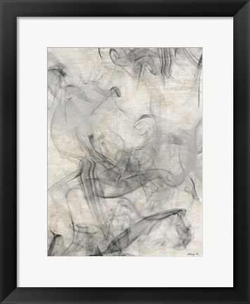 Framed Smoke 3 Print
