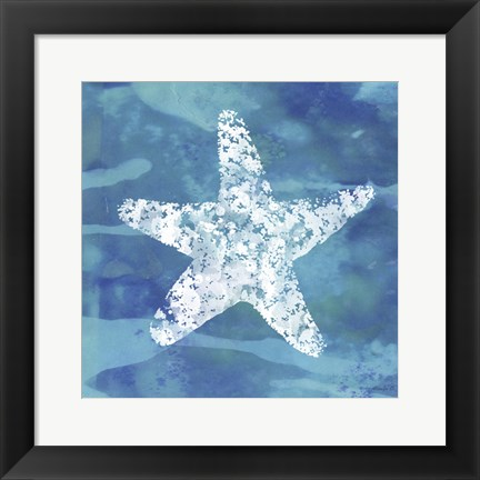 Framed Star Fish 2 Print