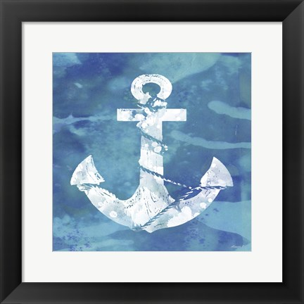 Framed Anchor Print