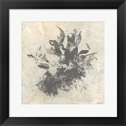 Framed Abstract Plant 2 Print