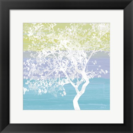Framed Tranquil Tree Print