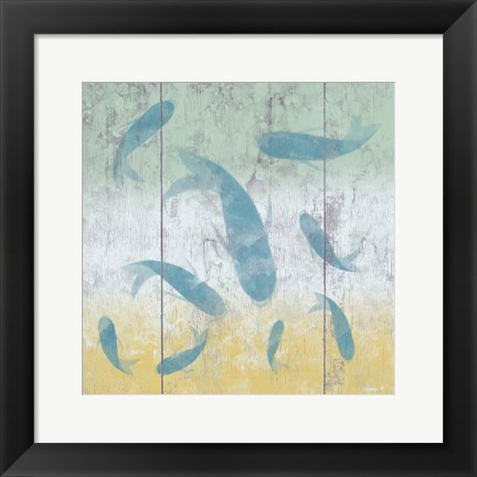 Framed Fish 5 Print