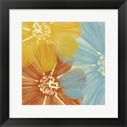 Framed Flower 3 Print