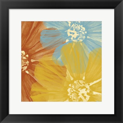 Framed Flower 4 Print