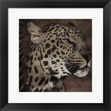 Framed Animal Instincts Dulled Print