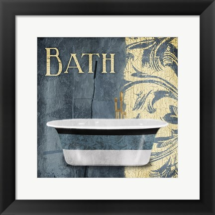 Framed Tub Bath Print