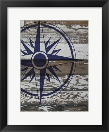 Framed Coastal Nautical 3 Print