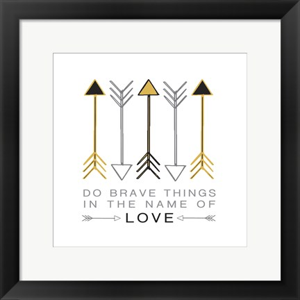 Framed Arrow Inspiration Print