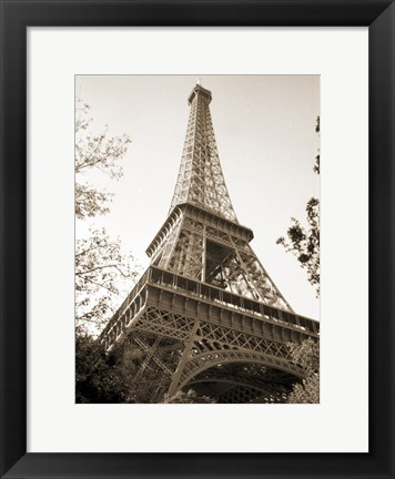 Framed Eiflel Tower 4 Print