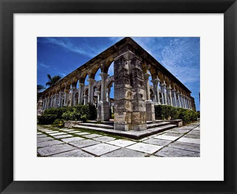 Framed Cloisters 1 Print