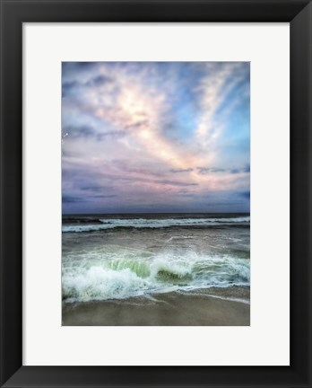 Framed Wave Crash Print