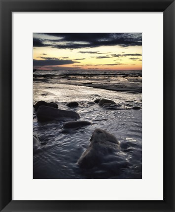 Framed Waters Edge Print