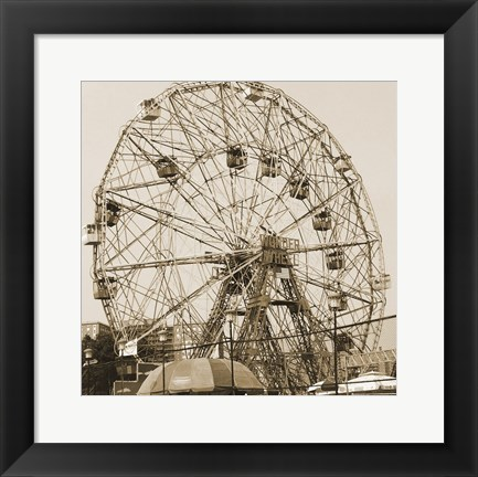 Framed Coney Island Print
