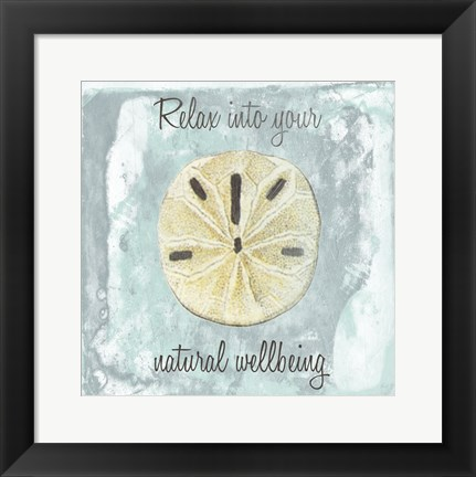 Framed Natural Wellbeing Print