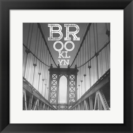 Framed Brooklyn Print
