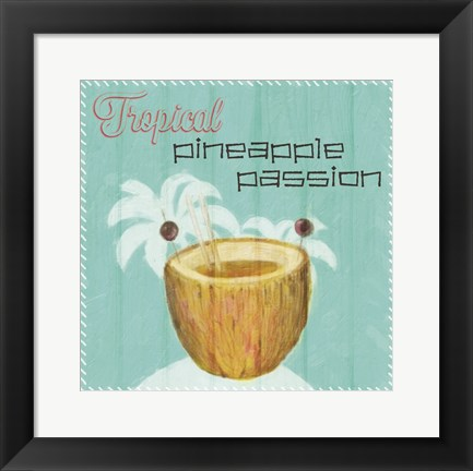Framed Pineapple Passion Print