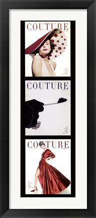 Framed Couture Panel Print