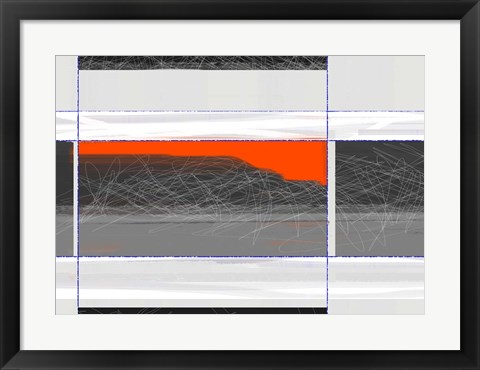 Framed Abstract Planes Print