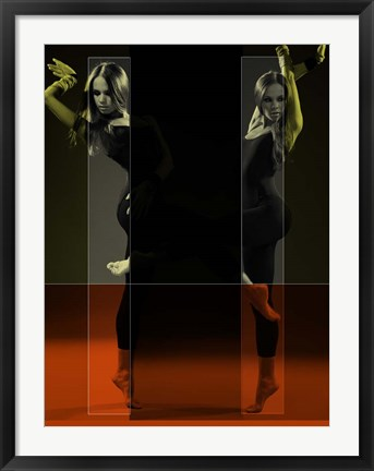 Framed Dancing Mirrors Print