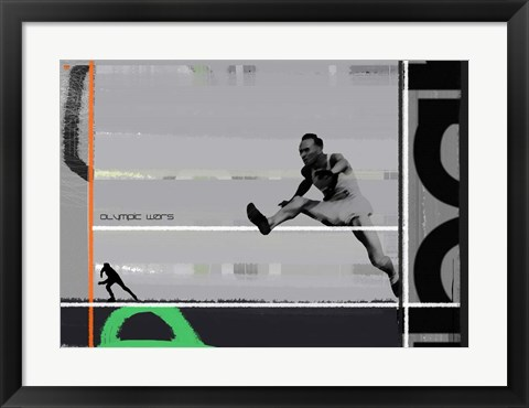 Framed Olympic Wars Print