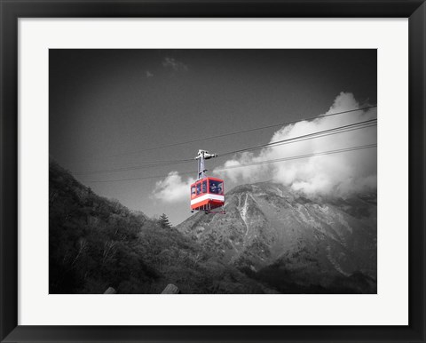 Framed Nikko Air Trolley Print