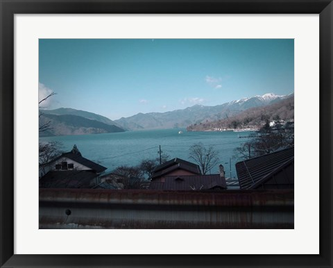 Framed Rural Japan Print