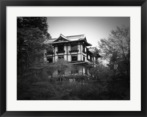 Framed Japanese Traditional House Print