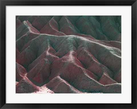 Framed Death Valley Mountains 3 Print