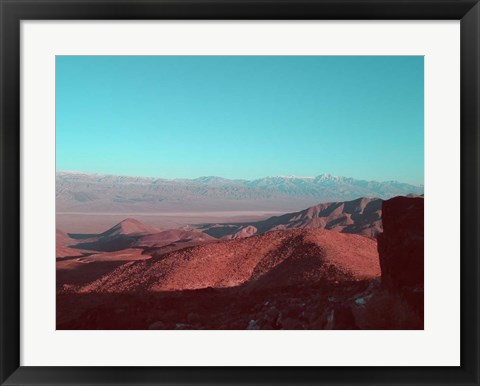 Framed Death Valley View 1 Print