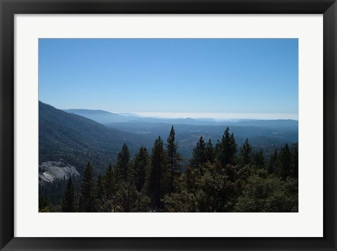 Framed Sierra Mountains Print