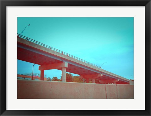 Framed Freeway 2 Print