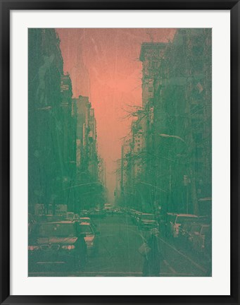 Framed 5th Ave Print
